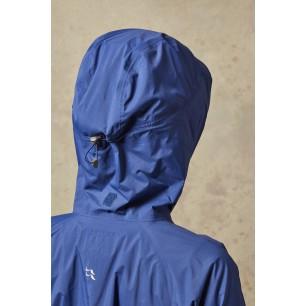 Dámská nepromokavá bunda Rab Downpour Alpine Blueprint
