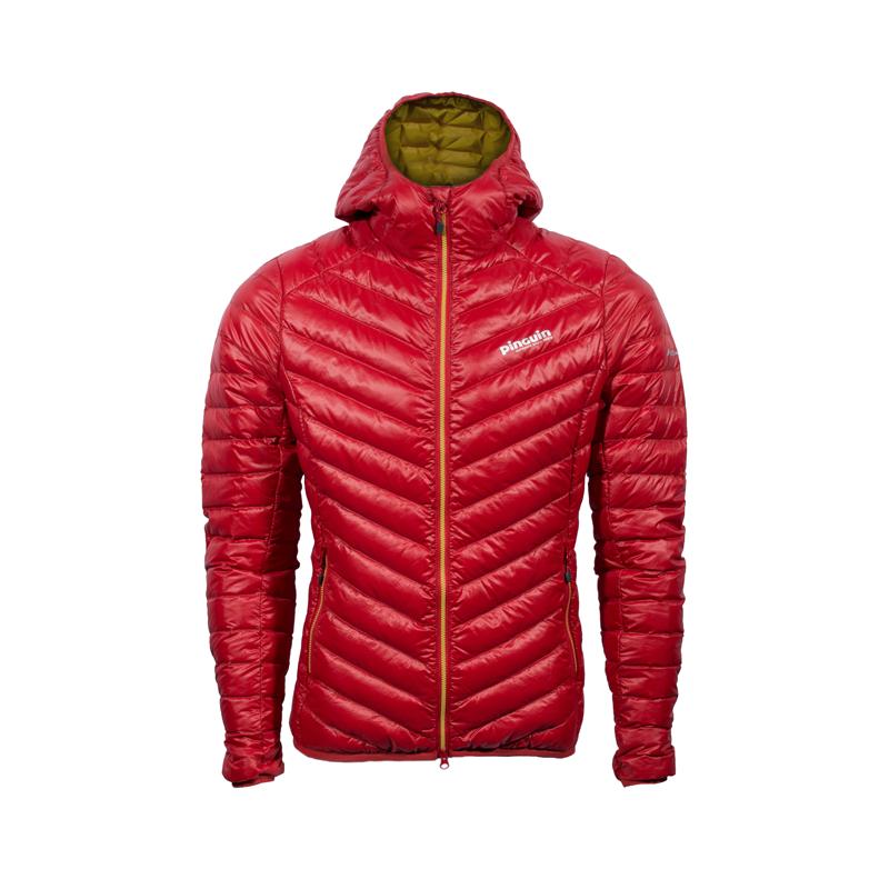 Pinguin Breeze Hoody Jacket Red
