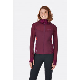 Rab Alpha Flux Jacket Women Eggplant