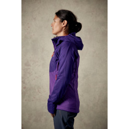 Rab dámská bunda Alpha Direct Jacket nightshade