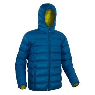 Warmpeace péřová bunda VERNON blue