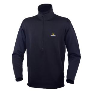Warmpeace pánský pulover FRAM Powerstretch Black