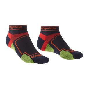Pánské běžecké ponožky s chladivým vláknem Coolmax a odolným Nylonem. Výška ke kotníkům. Ultra lehká gramáž pro horké letní dny.
