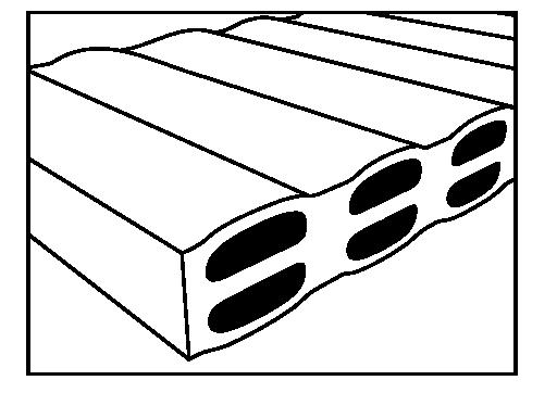 Dvojité horizontální dutiny