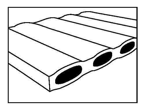 SCC - jedna vrstva izolace