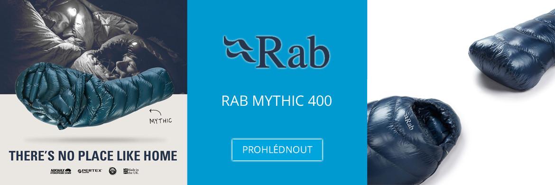 Péřový spacák Rab Mythic 400